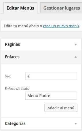 menu-desplegable-wordpress