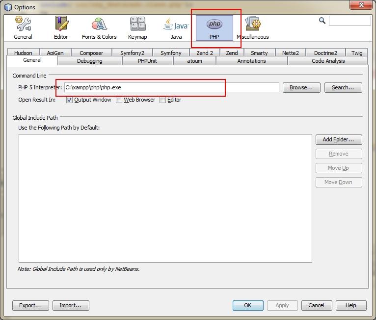 NetBeans-PHP-Depuracion