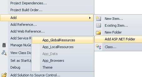 Recursos Localizacion ASPNET