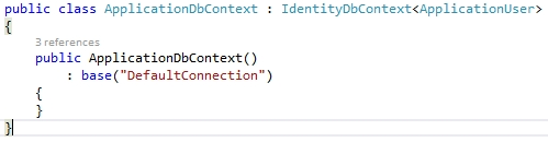 Clase ApplicationDbContext