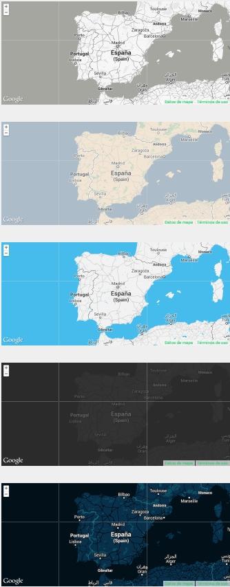 Diseño web maps