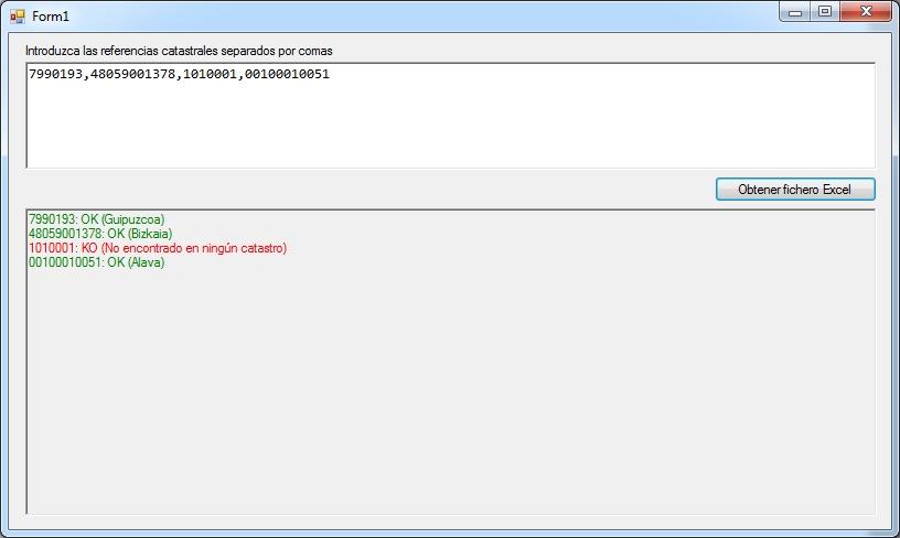 Software para localizar referencias catastrales
